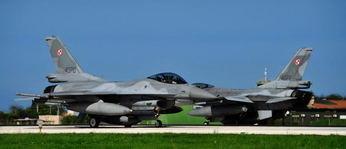 Polish F-16s