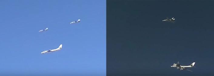 F-14 IRIAF escort Tu-95 composite