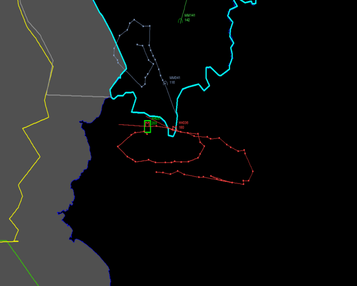 Radar track