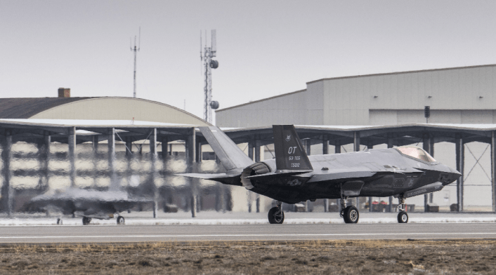 Mountain Home F-35As