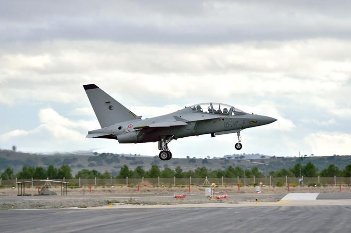 T-346 landing