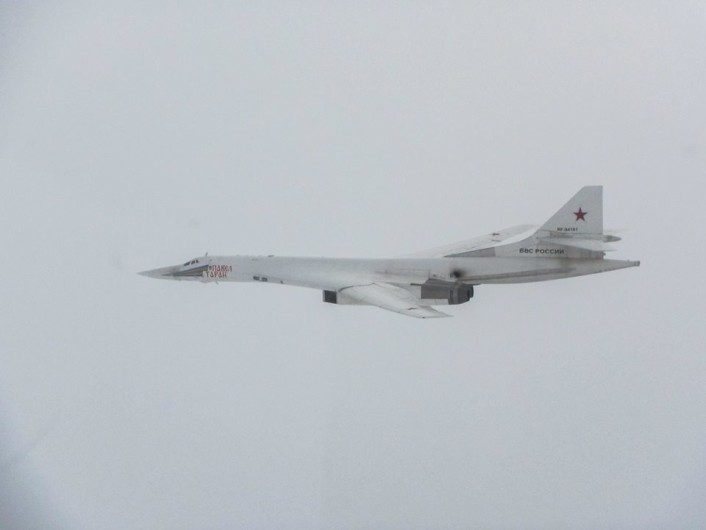 Tu160 intercepted UK 3