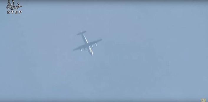 Il-20 over Idlib