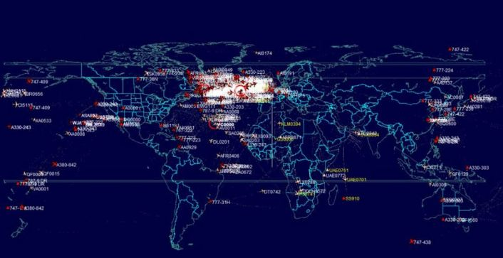 PlanePlotter global coverage
