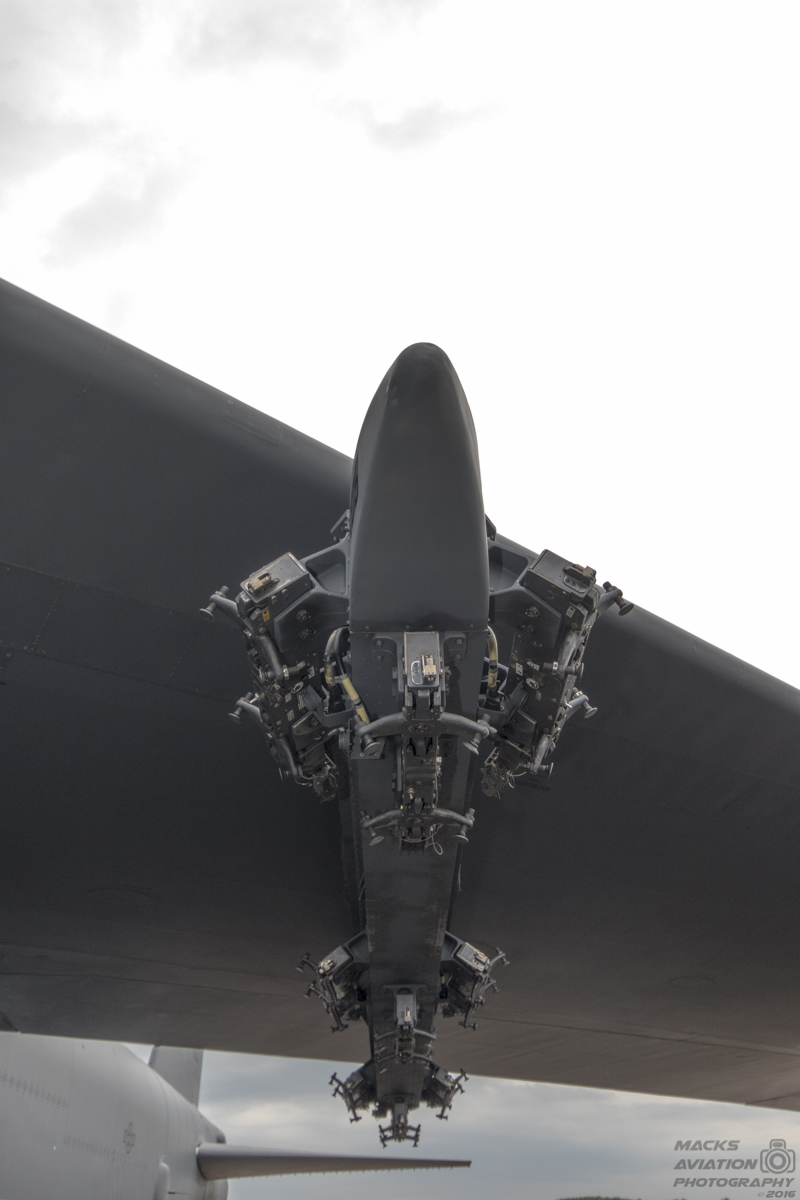 Up close and personal with the B-52 bombers deployed to the