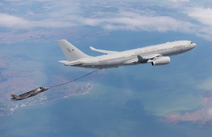 BF-04 Flt 363. RAF Voyager (KC-30) air refueling testing on 26 April 2016 piloted by RAF Squadron Leader Andy Edgell.
