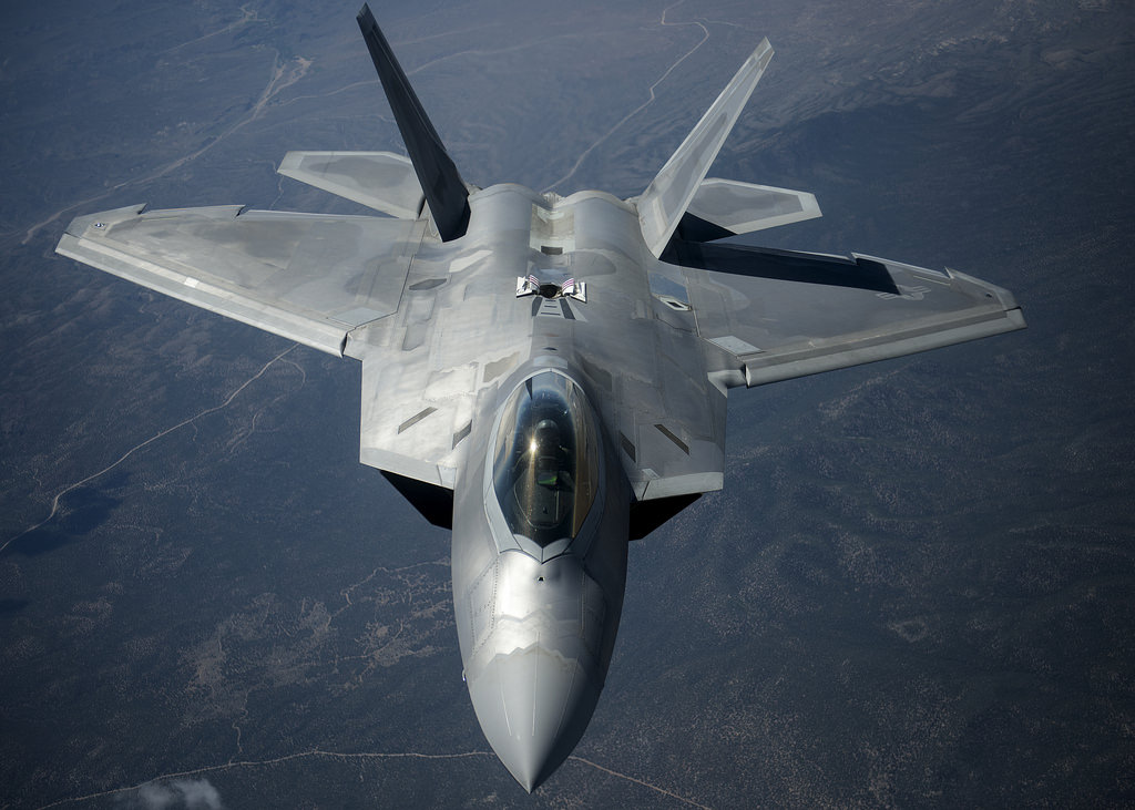 U.S. F-22 Raptor Stealth Jets To Fly Out Of Northern