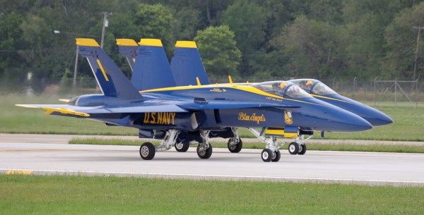 The Aviationist » The Blue Angels Rehearsing For New ...