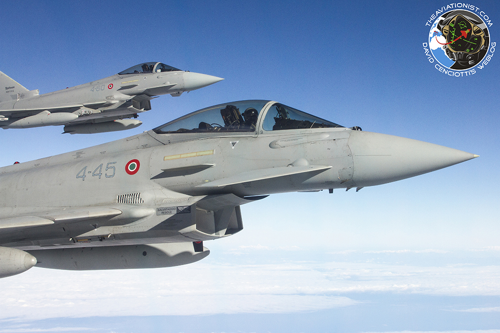 First hand account: Flying the Eurofighter Typhoon in the Aggressor