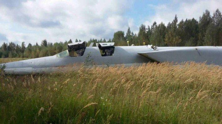Russian-Made Crash Notification  - Page 11 Tu-22-crash-landing-Zapad-2
