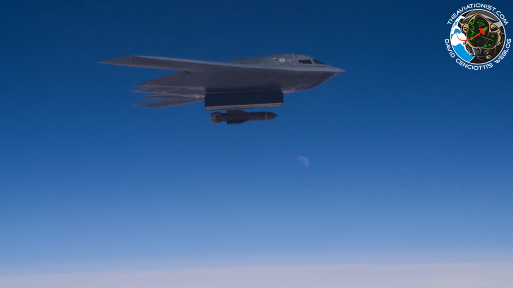 We Have Found Ultra Rare Footage Showing A B-2 Spirit