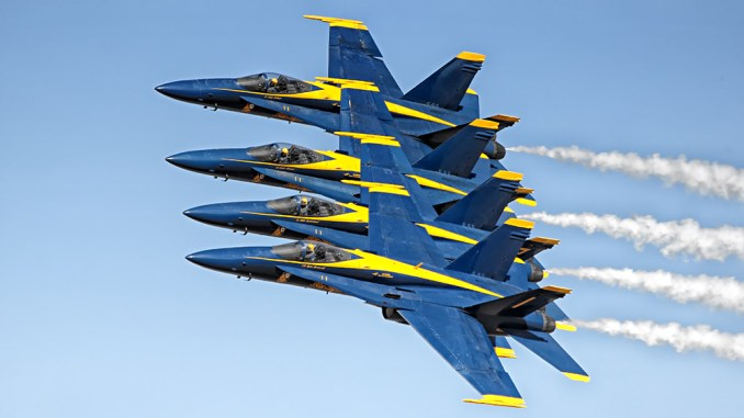 U S  Navy Blue Angels to Get Super Hornets By The End of