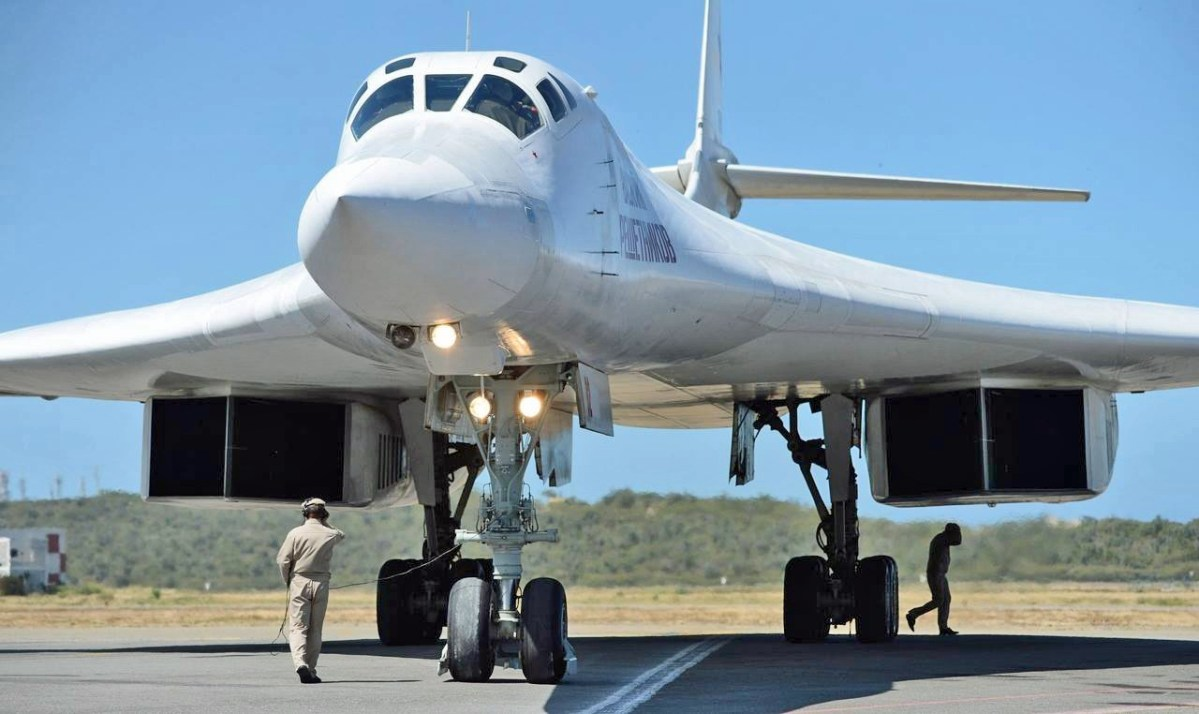 Image result for Russian strategic bomber Tu-160