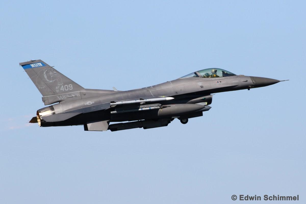 Minnesota ANG F-16s Join German, Polish, French, Swiss and