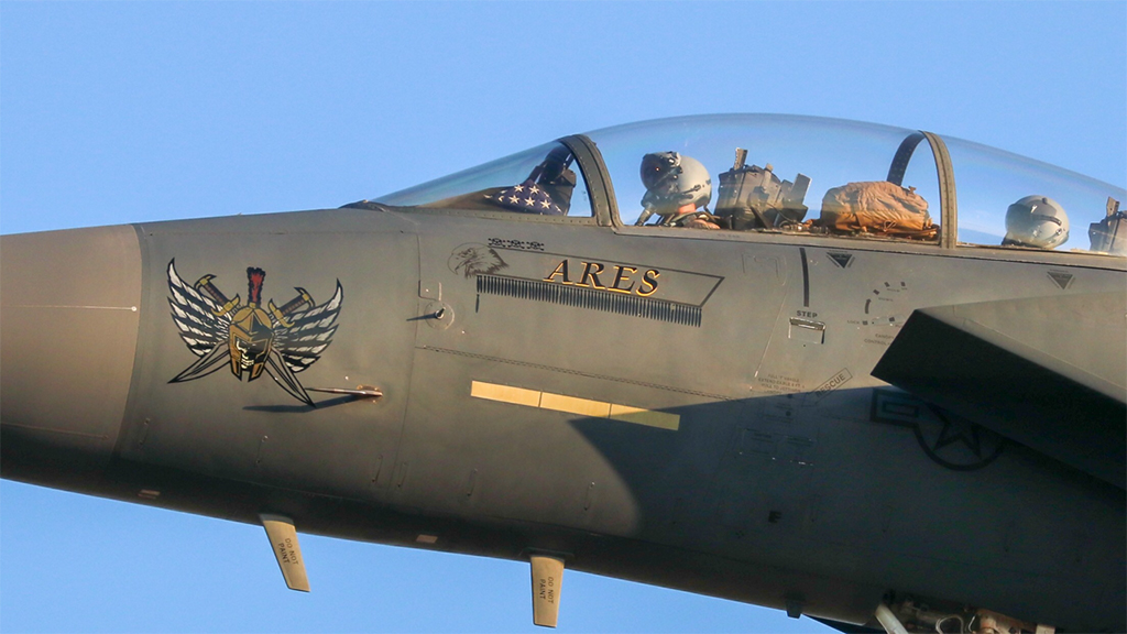 Take A Look At The F-15E Strike Eagles Returning Home From OIR