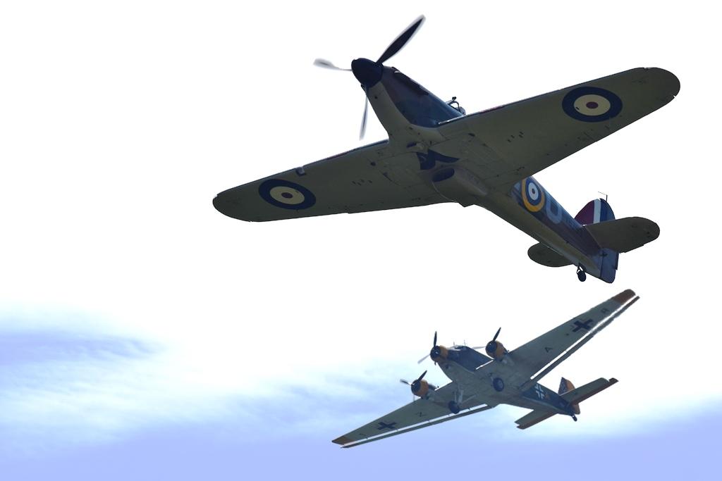 Spitfire Crash 2019