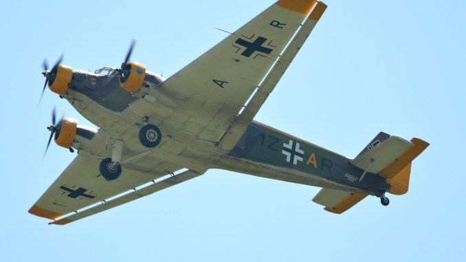 """Warbirds Over the Beach"""" Air Show And Its Awesome German"""