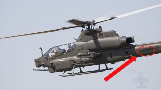 AH-1Z Viper Attack Helicopters Spotted in Amarillo, Texas, With Blacked Out Pakistan Markings