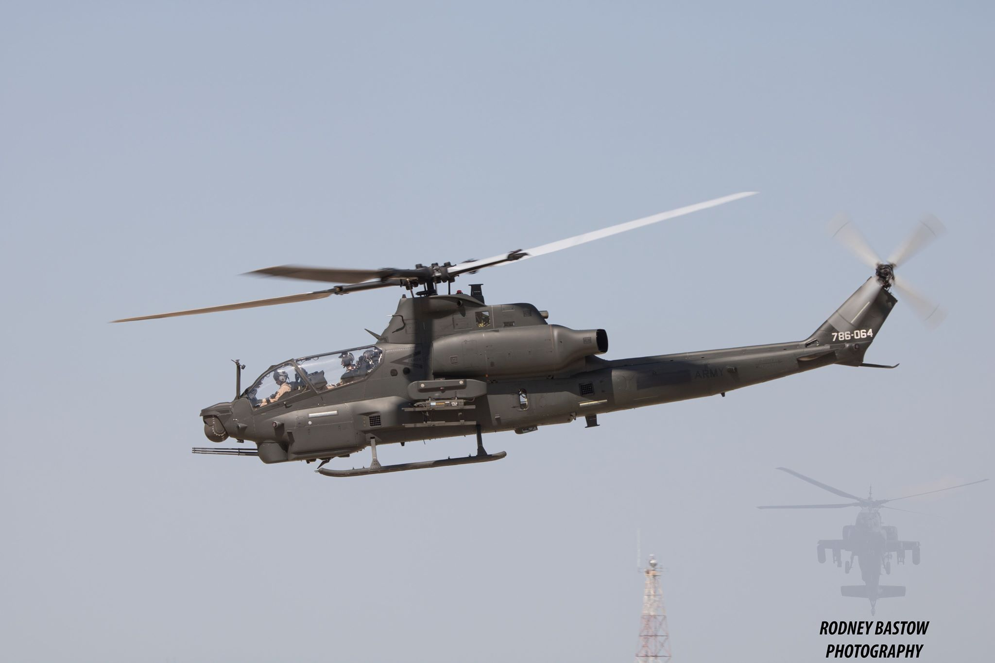 AH-1Z Viper Attack Helicopters Spotted in Amarillo, Texas