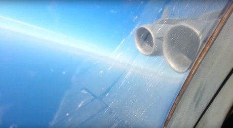 This Is What A Tactical Descent In A C-17 Globemaster III Cargo Aircraft Looks Like