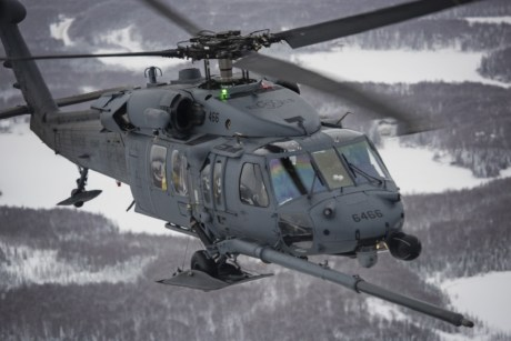 First Operational Loss Replacement HH-60G Pave Hawk delivered to the U.S. Air Force