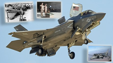 """We Visit VMFA-211, The Famous """"Wake Island Defenders"""", To Learn Their History."""