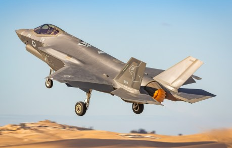 The Israeli Air Force Has Inaugurated Its Second F-35I Adir Squadron