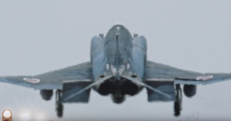 "Another ""Phantastic"" Video Shows The Japanese Phantoms Flying The First Sorties Of Their Last Operational Year"