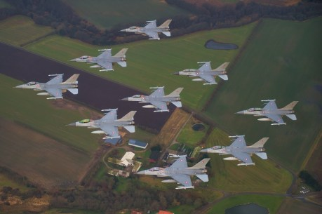 The Royal Danish Air Force Celebrates the 40th Anniversary of the F-16 in Denmark