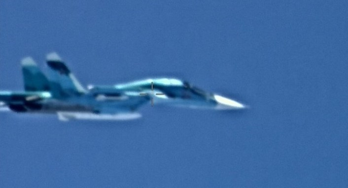 Su 34 AFRICOM - U.S. Africa Command Confirms Russia Deployed Military Fighter Aircraft to Libya, Shares Images