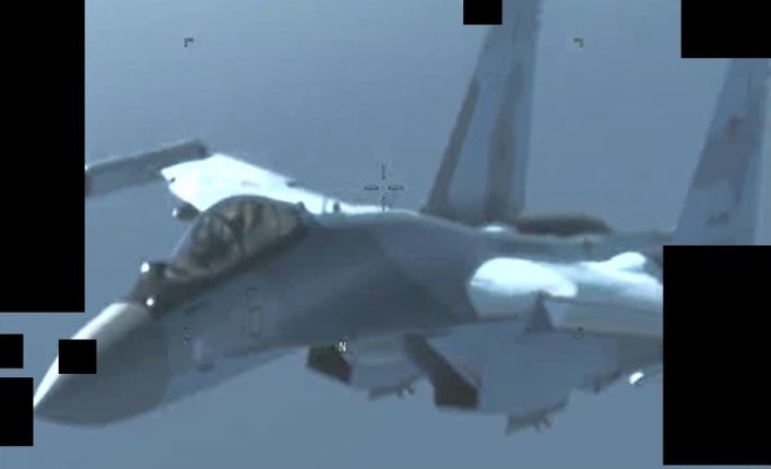 Su 35 AFRICOM - U.S. Africa Command Confirms Russia Deployed Military Fighter Aircraft to Libya, Shares Images