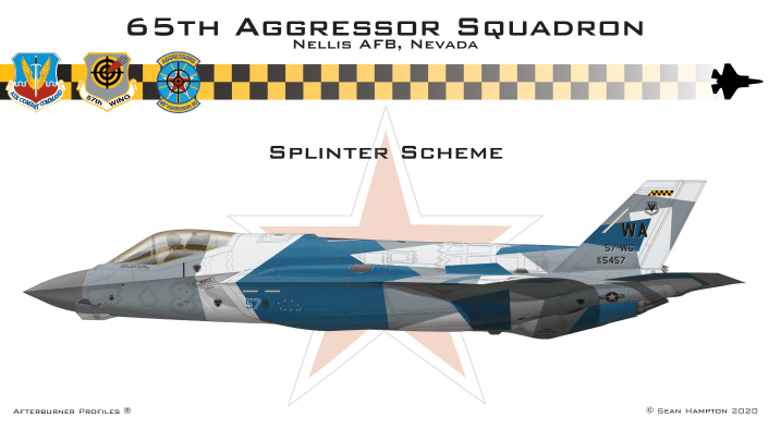 Splinter - These Are Some Of The Designs Submitted For The New Aggressors F-35 Color Scheme