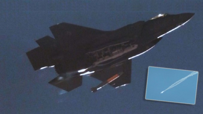 An F-35A Dropped An Inert B61-12 Nuclear Bomb During Supersonic Flight For  The First Time - The Aviationist
