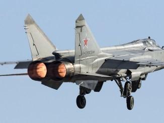 MiG-31 North Pole