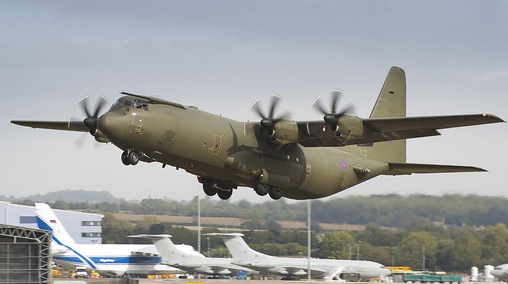 RAF C-130 Hercules Fleet To Be Entirely Retired By 2023 - The Aviationist