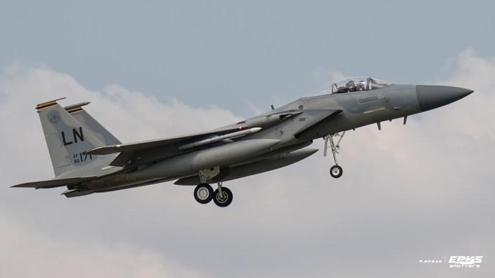 U.S. Air Force F-15 in Poland