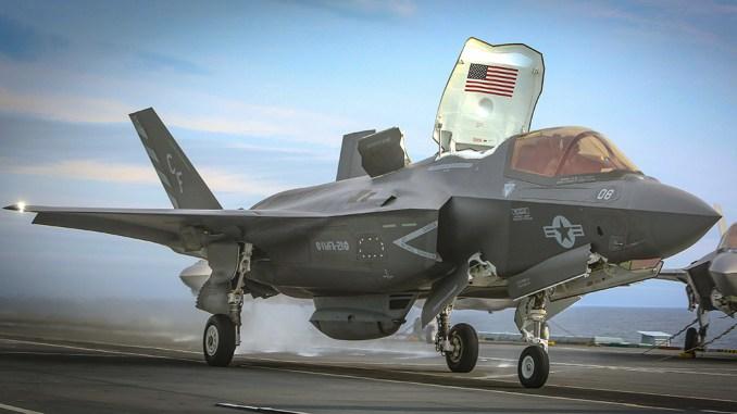 F-35B gun pod mishap