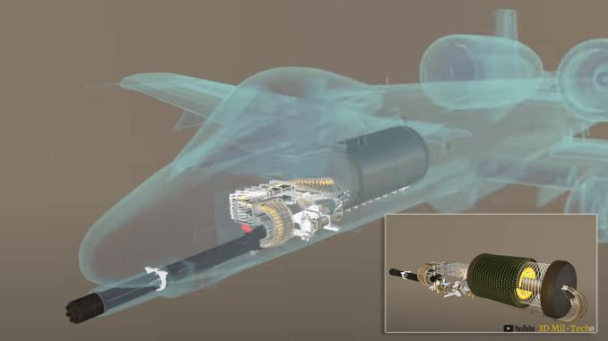 GAU-8 Avenger video