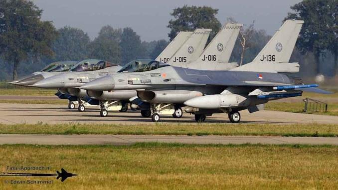 Dutch F-16s to Draken