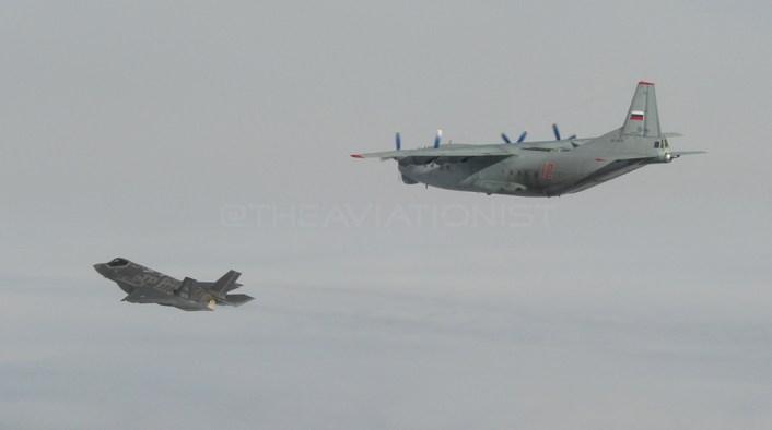 F-35 intercept An-12