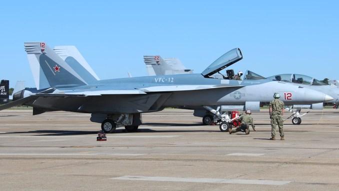 VFC-12 F/A-18E Su-57