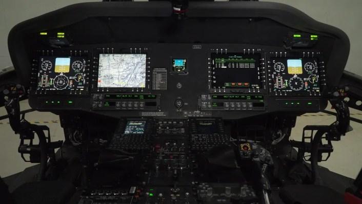 UH-60V cockpit