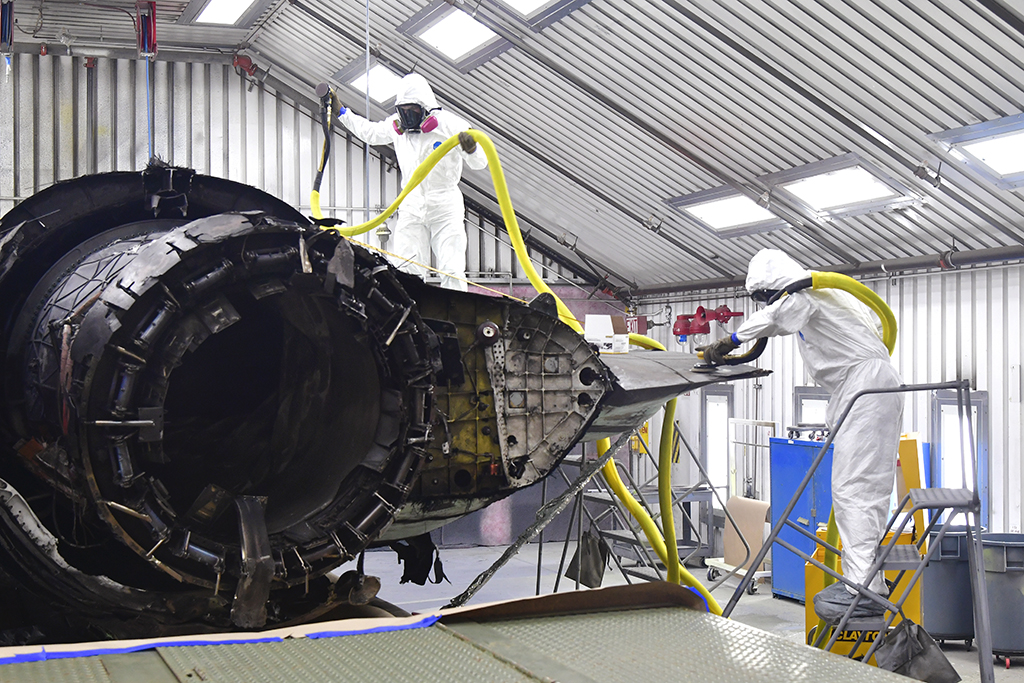 - What Remains Of F-35A That Crashed At Eglin Last Year Will Be Transformed Into Training Aids For F-35 maintainers