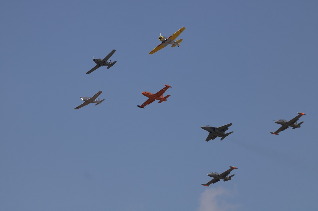 - The Italian Air Force Celebrates The 75th Anniversary Of The Flight School At Lecce-Galatina Air Base