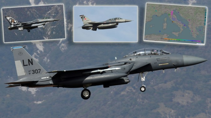 F 15E Steadfast Noon top - NATO's Annual Nuclear Strike Exercise Underway In Southern Europe