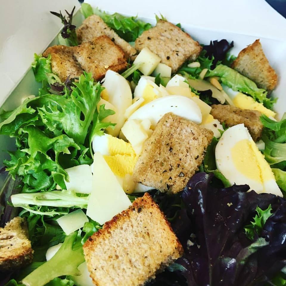 My sister's salad.