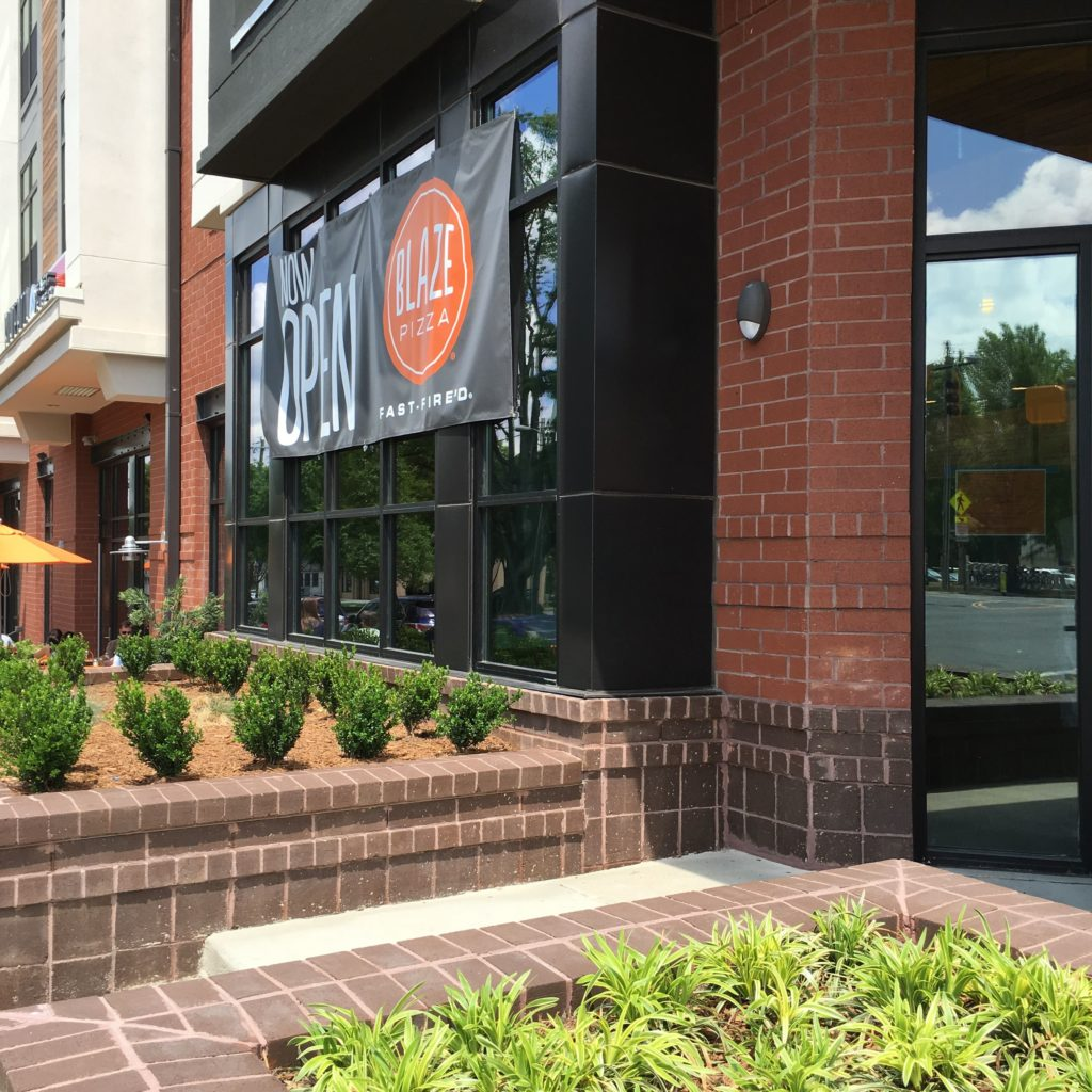 Blaze Pizza originated in Irvine, California and is now making it's mark on Charlotte.