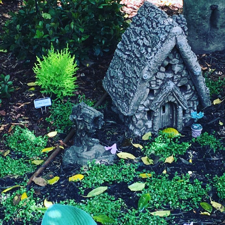 One of the fairy houses.