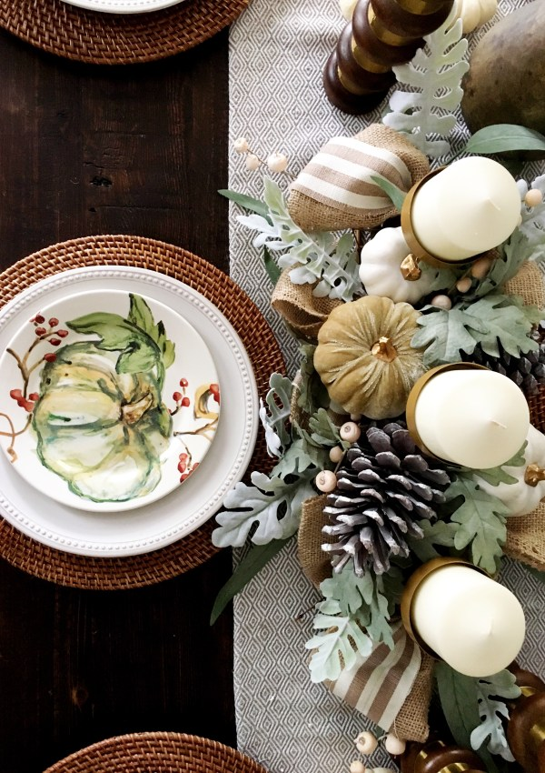 The Perfect Fall Tablescape