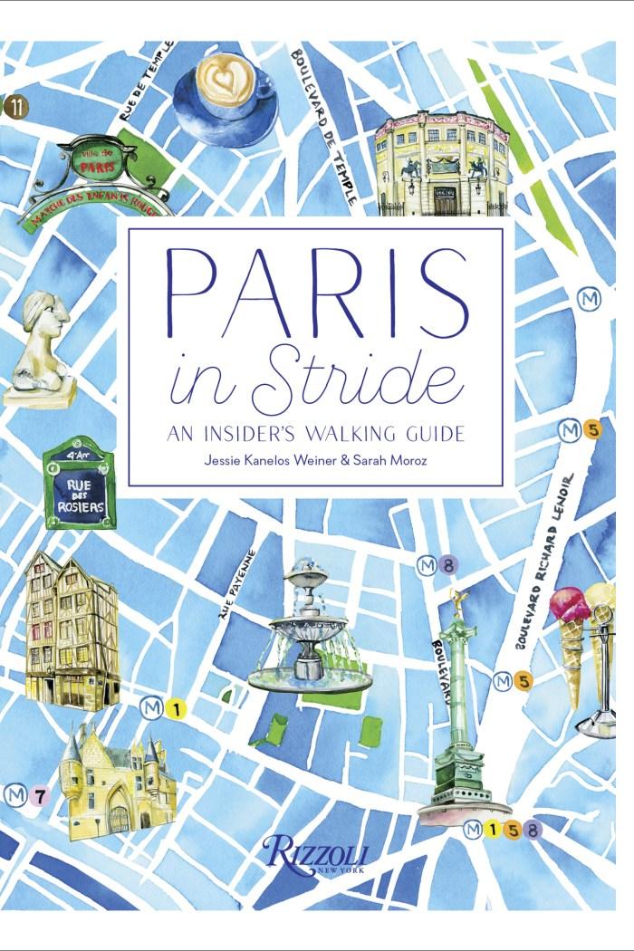 Inside 'Paris in Stride' with Illustrator Jessie Kanelos Weiner